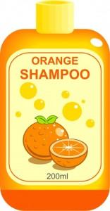 orange shampoo